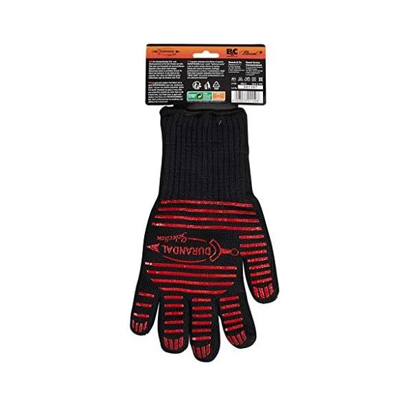 Durandal Guanti per Barbecue 1 unità Ove' Glove | Guanti ignifughi Accessori Barbecue | Guanti BBQ Resistenti Fino a 250… 2 spesavip