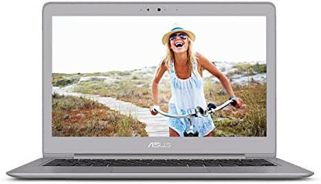 ASUS ZenBook UX330UA-AH54 13.3-inch Ultra-Slim Laptop (Core i5 Processor, 8GB DDR3, 256GB SSD, Windows 10) With Harman Kardon Audio, Backlit keyboard, Fingerprint Reader