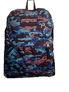 JanSport Classic Superbreak Backpack (Blinded Blue S Camo)