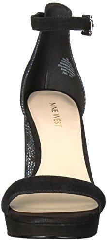 Sandalo In Pelle Dempsey Nove West Donna Nero / Multi