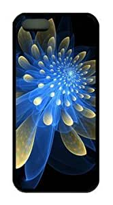 phone covers Abstract Fetching Flower DIY Rubber Black iPhone 5c Case Perfect By Custom Service
