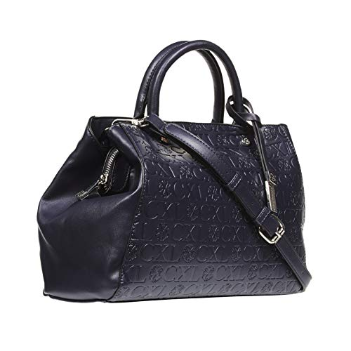 CXL by Christian Lacroix Anabelle Embossed Satchel Handbag for Women