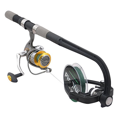 Piscifun Fishing Line Winder Spooler Machine Spinning Reel Spool Spooling Station System Automatic Spools Holder (Best Fishing Line For Casting Reel)