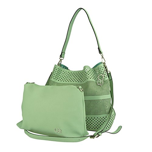 collezione alessandro - Bolso al hombro de Material Sintético para mujer Verde