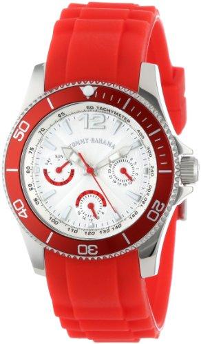 Tommy Bahama Swiss Women's TB2146 Riviera Swarovski Crystal Bezel Grey Dial Multi-Function and Strap Watch