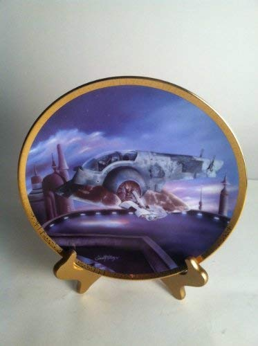 Star Wars Collectible Plates - Star Wars Collectible Plate The Slave I Space Vehicles