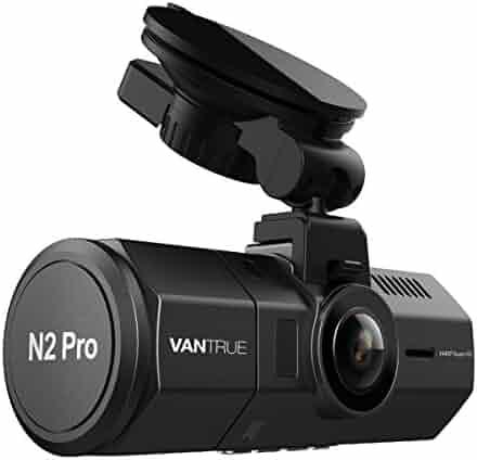 Vantrue N2 Pro Uber Dual Dash Cam Dual 1920x1080P Front and Rear Dash Cam (2.5K Single Front Record) 1.5