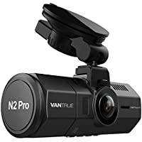 Vantrue N2 Pro Uber Dual Dash Cam Dual 1920x1080P Front and Rear Dash Cam (2.5K 1440P Single Front) 1.5' 310° Car Dashboard Camera w/Infrared Night Vision, Sony Sensor, Parking Mode, Motion Detection