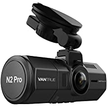 """Vantrue N2 Pro Uber Dual Dash Cam Dual 1920x1080P Front and Rear Dash Cam (2.5K 1440P Single Front) 1.5"""" 310° Car Dashboard Camera w/Infrared Night Vision, Sony Sensor, Parking Mode, Motion Detection"""