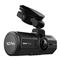 前後カメラ ドライブレコーダー VANTRUE N2 Pro 前後 1080P 車内+車外 HDR 2カメラ 駐車監視 SONYセンサー LED信号機対策 ドライブ レコーダー ドラレコ ダブル 2.5K&1440P前録モード フルHD 1.5インチLCD 170+140度広視野角 GPS機能(別売) 衝撃録画 高速起動 赤外線暗視機能 256GB(別売) サポート