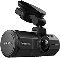 """Vantrue N2 Pro Uber Dual Dash Cam Dual 1920x1080P Front and Inside Dash Camera (2.5K 2560x1440P Single Front) 1.5"""" 310° Car Camera w/Infrared Night Vision, Sony Sensor, Parking Mode, Support 256GB max"""