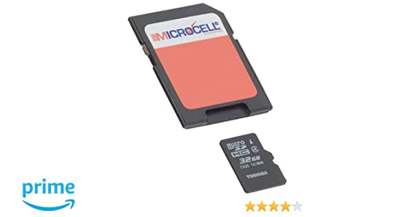 Microcell - Tarjeta de memoria Micro SD de 32GB / 32 GB con adaptador SD para Huawei Ascend P8 Lite