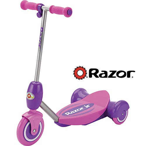 Razor Jr. Lil' E Scooter - Pink (Girls Purple Electric Scooter)