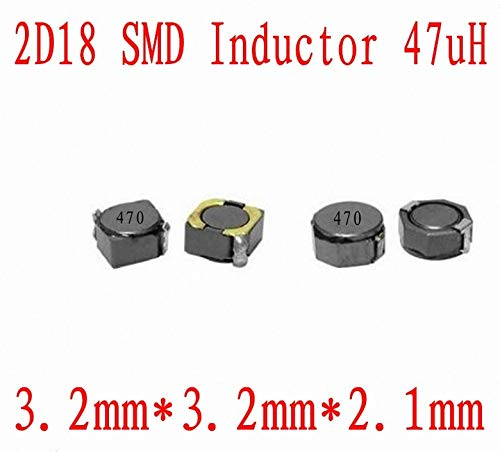Maslin New SMD Inductors 2D18 47UH Chip Inductor 332mm CDRH 2D18 47uh Shielding Power inductance 1000 PCS