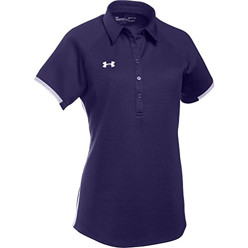 Under Armour Women's UA Rival Polo (Large, (Under Armour Cotton Polo Shirt)