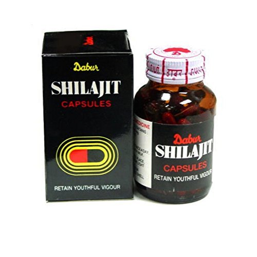 Dabur Pure Shirazit 300 capsule (100 x 3) Free 10 Power X capules B079M3G7ZH