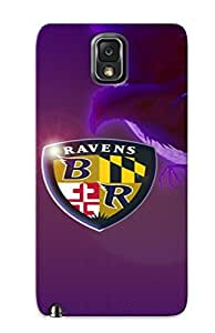 Defender Case For Galaxy Note 3, Baltimore Ravens Pattern, Nice Case For Lover's Gift