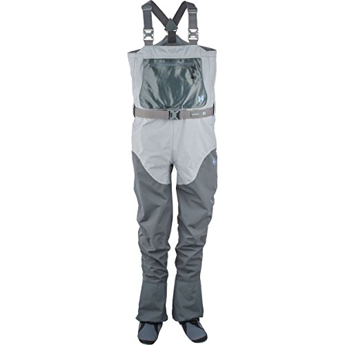 Hodgman Women's H4 Stocking Foot Chest Waders - Storm Grey/Charcoal - S - Fly