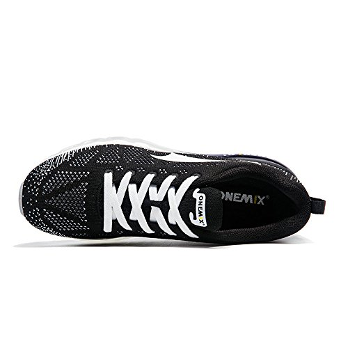 de Blanco negro Rhythm Onemix Respirable Music 1st Atlético Generation Mujer Adulto Zapatillas Running Deportes Hombre Unisex Air gaZx8aXq