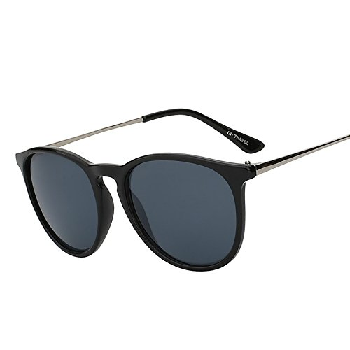 mujer gafas clásico Gafas TIANLIANG04 para sol de redondo llavero y de hombre sol diseño con de Yq8SqOw