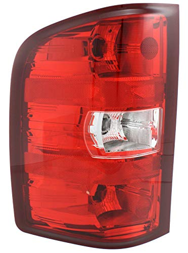Tail Light Assembly Compatible with 2007-2013 Chevrolet Silverado 1500 Driver Side