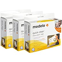 3 Boxes of Medela Quick Clean Micro-Steam Bags. 5 Bags per Box