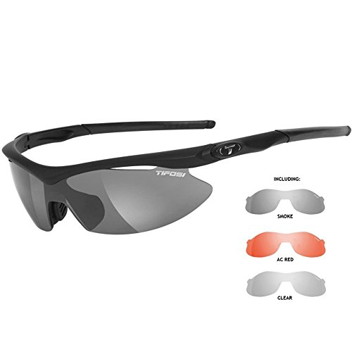 - Tifosi Asian Slip 1060100101 Shield Sunglasses,Matte Black,149 mm