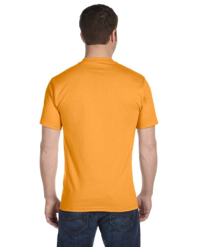 Hanes–Beefy t-shirt a maniche corte 5180 Oro Gold