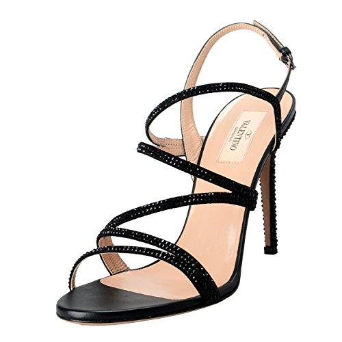 Valentino Garavani Women's High Heel Strappy Shoes US 9 IT 40;