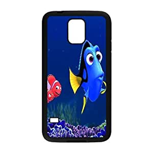 FOR Samsung Galaxy S5 -(DXJ PHONE CASE)-Keep Smile - Finding Nemo-PATTERN 19