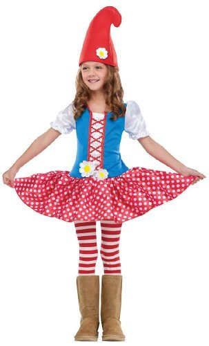 Gnome Girl Toddler Costume by Fun World Costumes (Gnome Girl Costume For Toddlers)