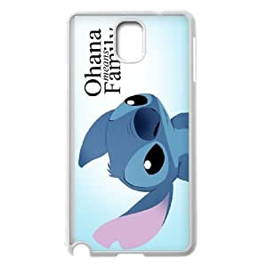FOR Samsung Galaxy NOTE4 Case Cover -(DXJ PHONE CASE)-Ohana Means Family, Funny Stitch-PATTERN 18