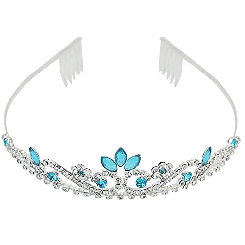 ReFaxi®Crystal Rhinestone Wedding Bridal Prom Party Headband Hair Tiara Jewelry Princess Crown (color 3)