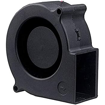 GDSTIME 75x75x30mm 75mm Dual Ball Bearing Computer 12V DC Brushless Turbo Blower Cooling Fan