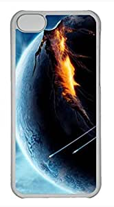 LJF phone case ipod touch 4 case, Cute Planet Fantasy Art ipod touch 4 Cover, ipod touch 4 Cases, Hard Clear ipod touch 4 Covers