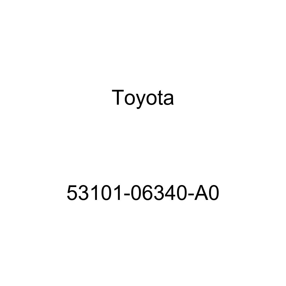 Toyota 53101-06340-A0 Radiator Grille Sub Assembly