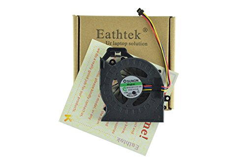 (Eathtek Replacement CPU Cooling Fan For HP DV6-6000 DV6-6200 DV7-6000 series Laptop, Compatible part number 653627-001 AD6505HX-EEB KSB0505HB)