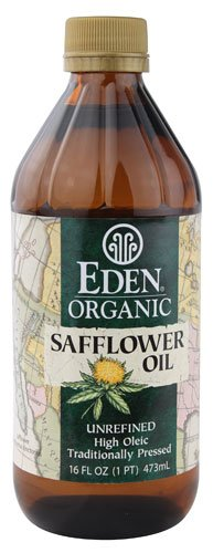 Eden Foods Organic Unrefined Safflower Oil -- 16 fl oz - 2 pc