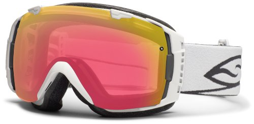Smith Optics I/O Goggle (White Frame, Photochromic Red Sensor Lens) by Smith Optics