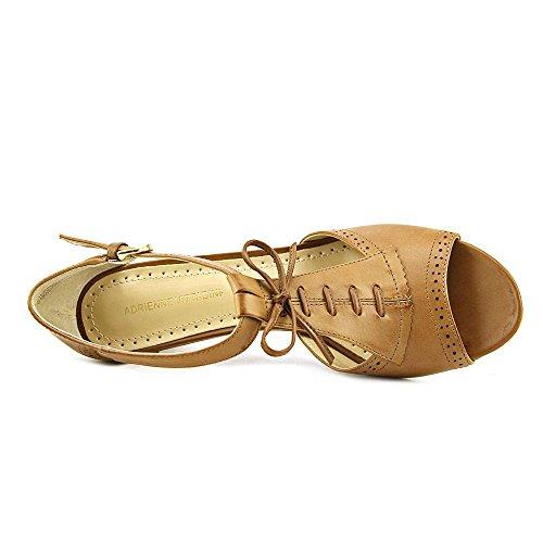 Adrienne Vittadini Footwear Women's Gretchen Dress Sandal,Cuoio,10 M US