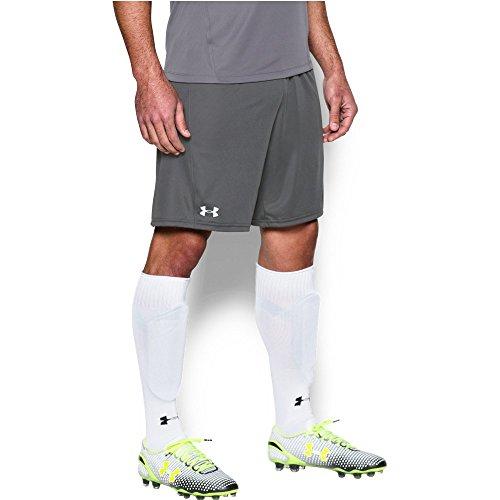 Under Armour Men's Challenger Knit Shorts, Graphite/White, Medium