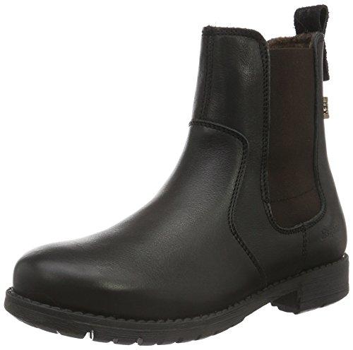 Bisgaard Tex Boot 61004216, Unisex-Kinder Schneestiefel Schwarz (202 Black)