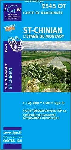 Livre 2545ot St-Chinian/Etang de Montady epub pdf