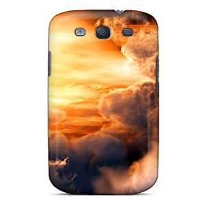 New Dispersing The Clouds Tpu Skin Case Compatible With Galaxy S3