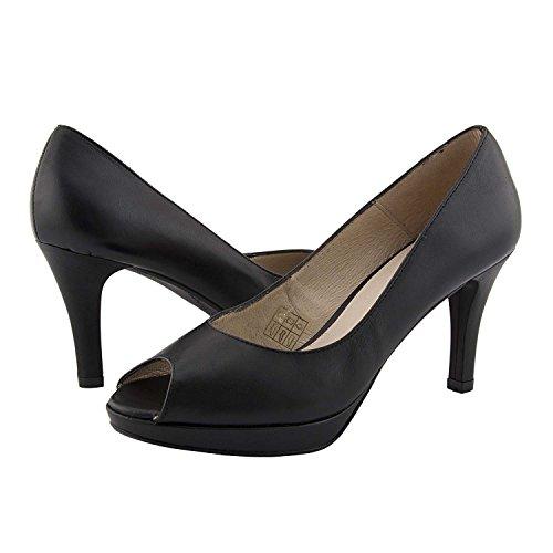 Chaussures en Cuir de Style de Salon Noir zPTvI2T2