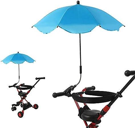 Doggo Baby Stroller Buggy Umbrella Sun Shade Parasol 360 grados ajustable para exterior