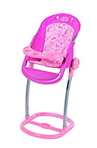 zapf creation baby annabell high chair toy baby annabell. Black Bedroom Furniture Sets. Home Design Ideas