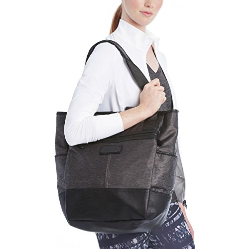 LOLE Lily Tote, Black Heather, One Size