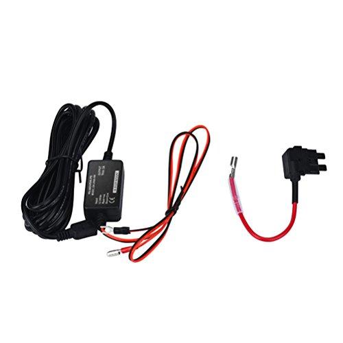 Gotd Hard Wire Kit Car Dash Cam Camera For Nextbase 101 112 212 302 312 402G 412 512 DUO (Black)