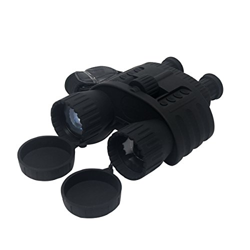 Uboway WG-80 4X50mm Digital Night Vision Binocular with Camera & Camcorder Function for Hunting, Surveillance 980 FT Viewing Range by Uboway